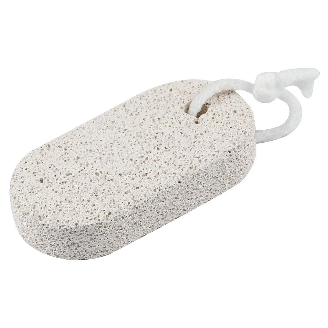 トレイ枕群がるuxcell フットファイル オーバルシェイプ 軽石製 フットペディキュアツール スキンリムーバー サンディングファイル