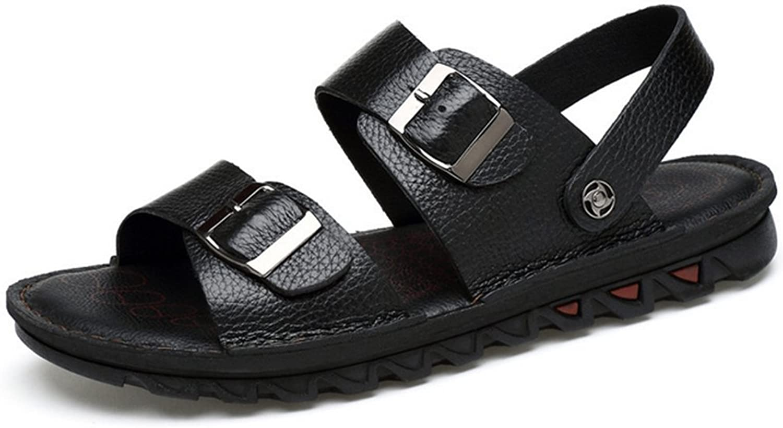 Weiwei Mens Summer Sandals,Soft Predective Beach Slippers