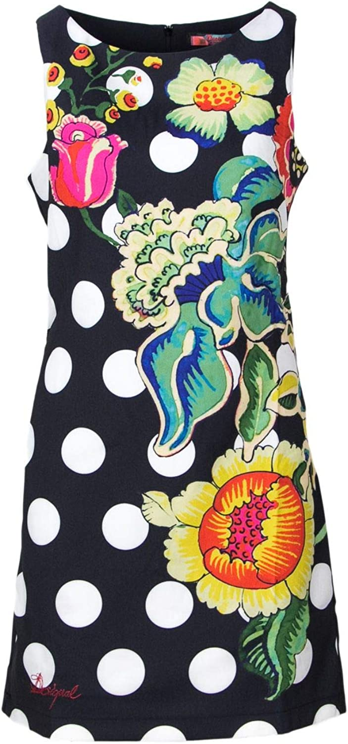 Desigual Women's 46V2866BLACK Black Polyester Dress
