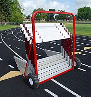 100 Meter 2 Wheel Hurdle Cart