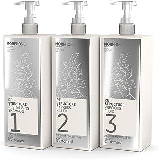 Framesi Re Structure Kit Trattamento (3 x 1000 ml) Shampoo + Filler + Fluid
