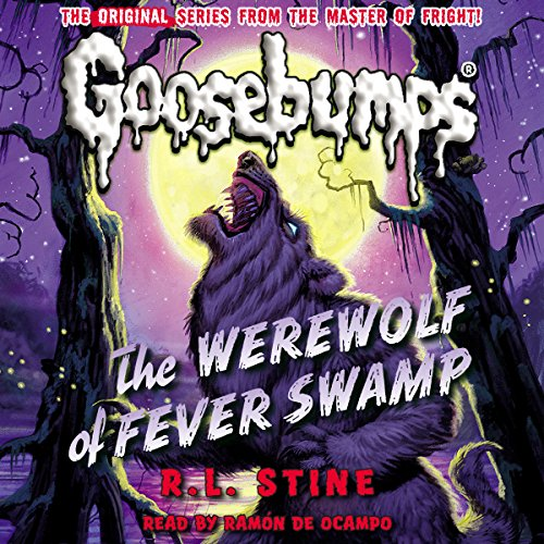 Page de couverture de Classic Goosebumps: The Werewolf of Fever Swamp