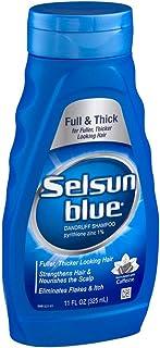 Selsun Blue Champú anticaspa para cabello grueso pelo 325 ml 2 unidades