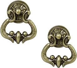 Tinksky Cabinet Hardware Cupboard Wardrobe Drawer Knob Door Pull Handle Pack of 2(Bronze)