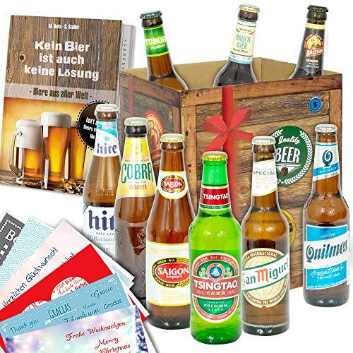 Geschenkideen für Männer/Bier aus aller Welt/Geschenkset Männer Geburtstag