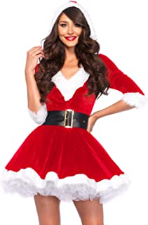 Women's 2 Piece Mrs. Claus Costume