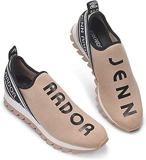 JENN ARDOR Women's Fashion Sneakers Slip On Walking Shoes Comfortable Casual Platform Work Travel Sneakers Shoes