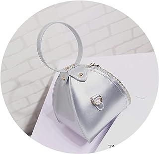 小さなバッグメッセンジャーバッグショルダーバッグ携帯電話バッグミニピンセットバッグ女性のバッグトライアングルバッグランタンハンドバッグ