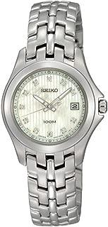 Diamonds Bracelet Mother-of-pearl Dial Women's watch #SXDC11