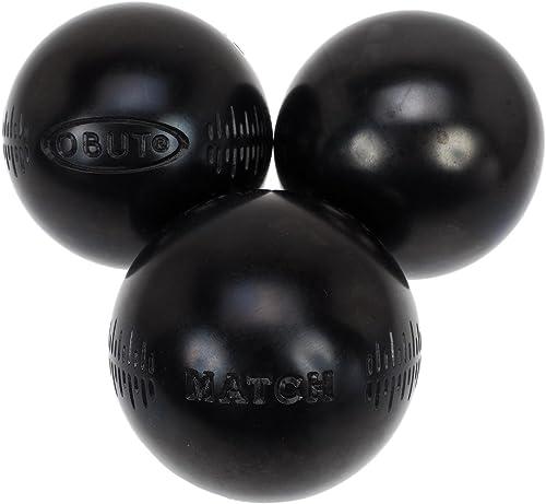 Obut - Match Noire (g) 75mm - Boules de pétanque