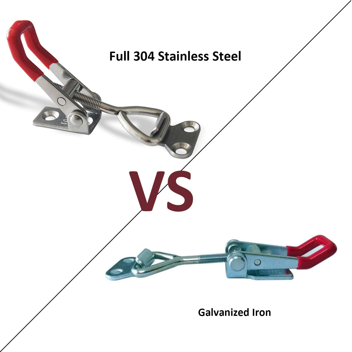 thegymyarraville.com.au YUEPIN Toggle Clamp 304 Stainless Steel ...