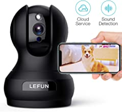 Pet Camera, Lefun 1080P Wireless Security Camera with Sound Detect Motion Tracking Two..
