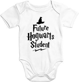 MoonWorks Kurzarm Baby Body HP Hogwarts Future Student Jungen Mädchen Onesie Bodyshirt