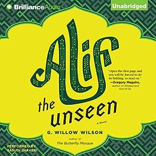 Alif the Unseen audiobook cover art