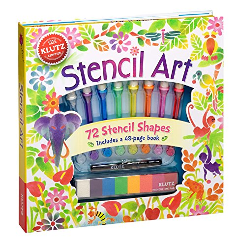 Klutz Stencil Art Book Kit