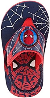 BBC Spiderman Sandals For Boys Flip Flop Kids Toddler Beach Summer (Small 5/6)