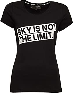 Roberto Geissini T-Shirt Sky is not The Limit