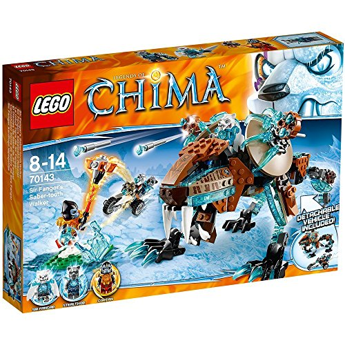 LEGO Legends of Chima 70143 - Sir Fangars Säbelzahn-Roboter