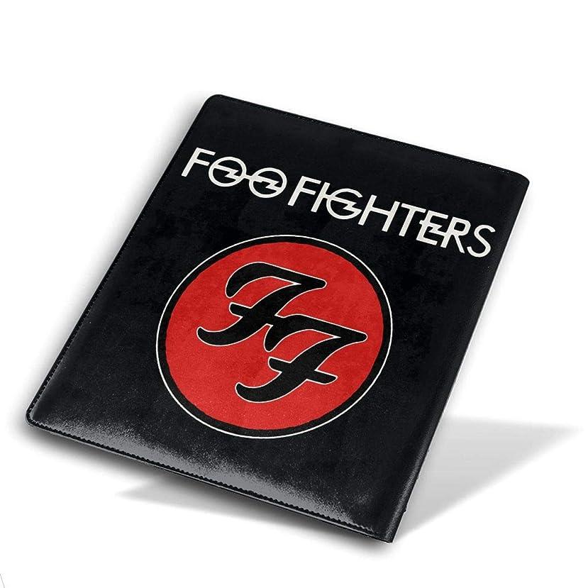 用心深い不適リースブックカバー 高級PUレザー フー?ファイターズ Foo Fighters Logo ブックカバー ノートカバー ブックカバー 本カバー 耐久性 子供 大人 読書 資料 収納入れ メモ帳カバー プレゼント 贈り物