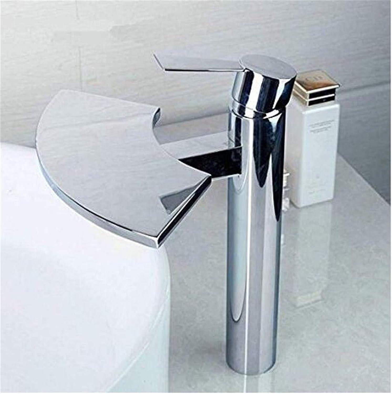 Wasserhahn Becken Wasserhahn Badezimmer Wasserhahnwasserfall Bad Waschbecken Mixer Waschbecken Wasserhahn Wasserhahn Messing Chrome Wasserhhne