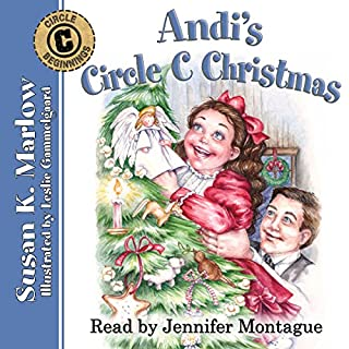Andi's Circle C Christmas  audiobook cover art
