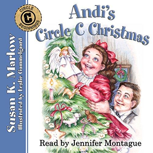 Andi's Circle C Christmas  audiobook cover art