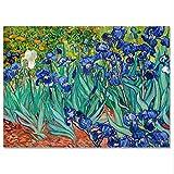 LaMAGLIERIA Póster Van Gogh Iris - Lámina fotográfica - Gran Formato, 30cmx40cm