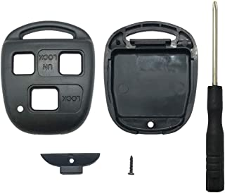 Horande Key Fob Case Shell fits for Lexus Lexus ES GS GX IS LS LX RX SC IS300 LX470 GX470 RX300 Keyless Entry Key Fob Cove...