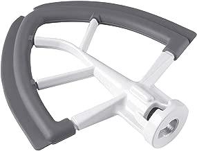 Flex Edge Beater for KitchenAid 4.5-5 Quart Tilt-Head Stand Mixer Flat Beater Blade with Silicone Edges Flex Edge Bowl Scraper