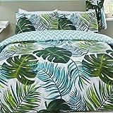 Rapport Tropische Palmen einzelne Bettbezug und Kissenbezug Set