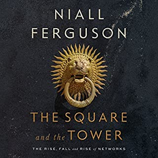 The Square and the Tower audiobook cover art