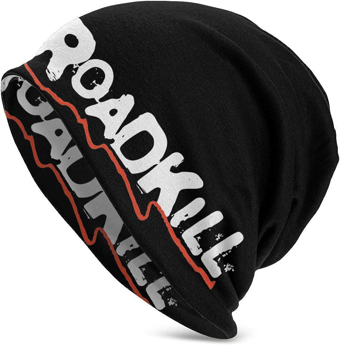 Outdoor Knit Hat Top Level Beanie Unisex Cap Balaclava Hat Road-Kill Design Warm Fedoras Hat