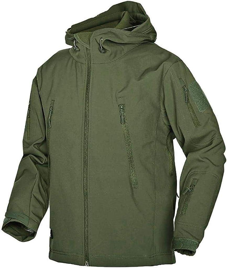 AKARMY Men's Waterproof Ski Hooded Jacket Softshell Windbreaker Recommended Finally resale start