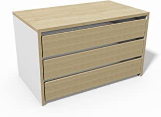 Cassettiera In Legno Grezzo Ikea.Amazon It Cassettiera Armadio Interna