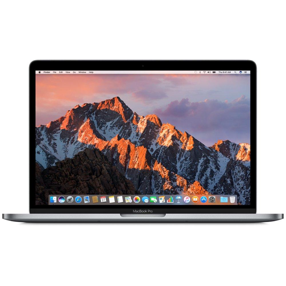 Apple Apple MacBook Pro 13インチラップトップ2.3GHzデュアルコアIntel Core i5プロセッサMPXQ 2CH /タッチバー2017モデルなしの濃いグレーのグレー128GBソリッドステートドライブApple