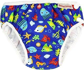 ImseVimse Blue Sea Life - Pañal Bañador Talla:S 6-8 kg