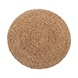 alfombra redonda yute 60