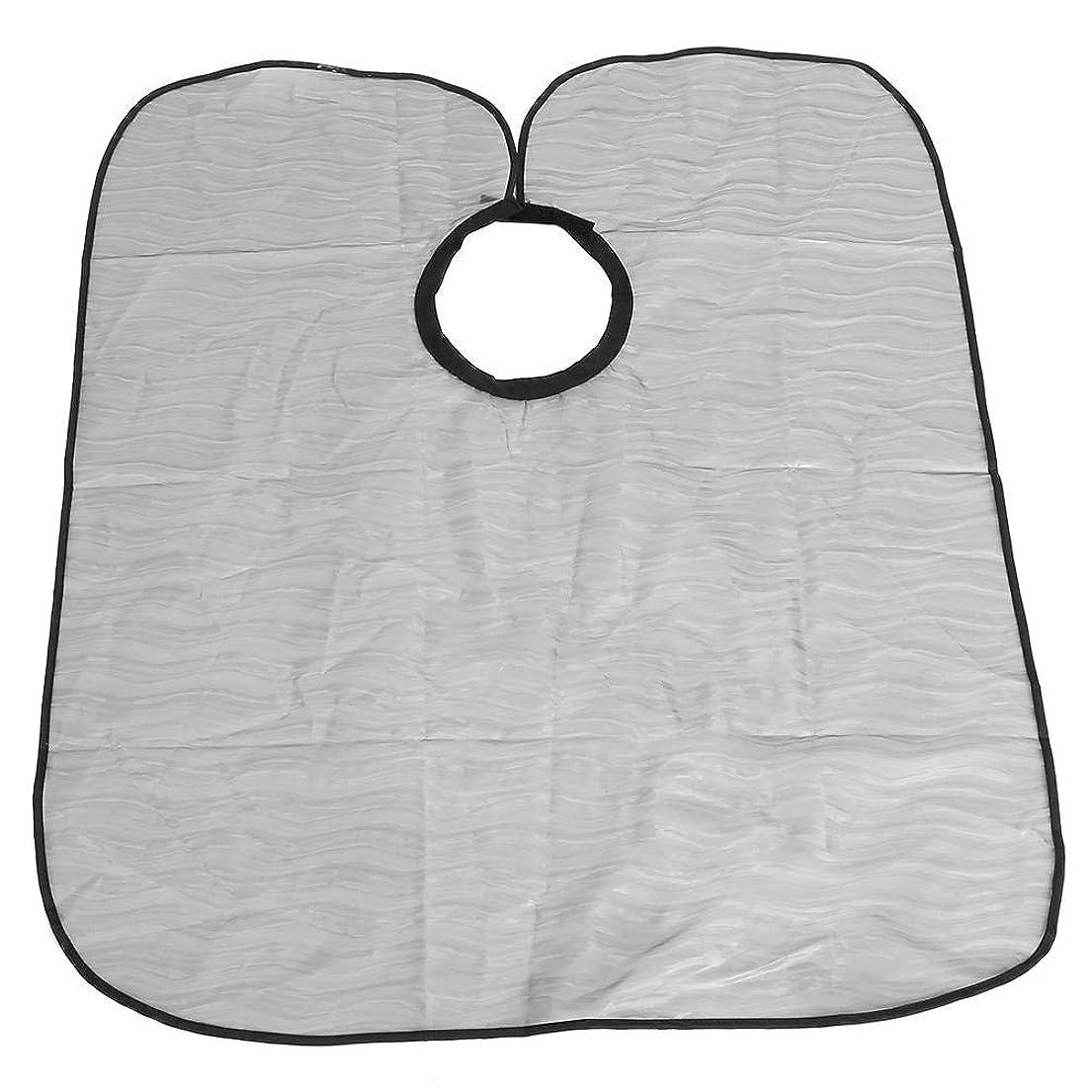 研究所フォルダ特殊理髪布、防水サロンヘアカットケープ理髪布ヘアスタイリストガウン理容岬(# 1)