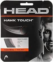 Head Hawk Touch (18-1.20mm) Tennis String Set (Anthracite) (2-Sets)