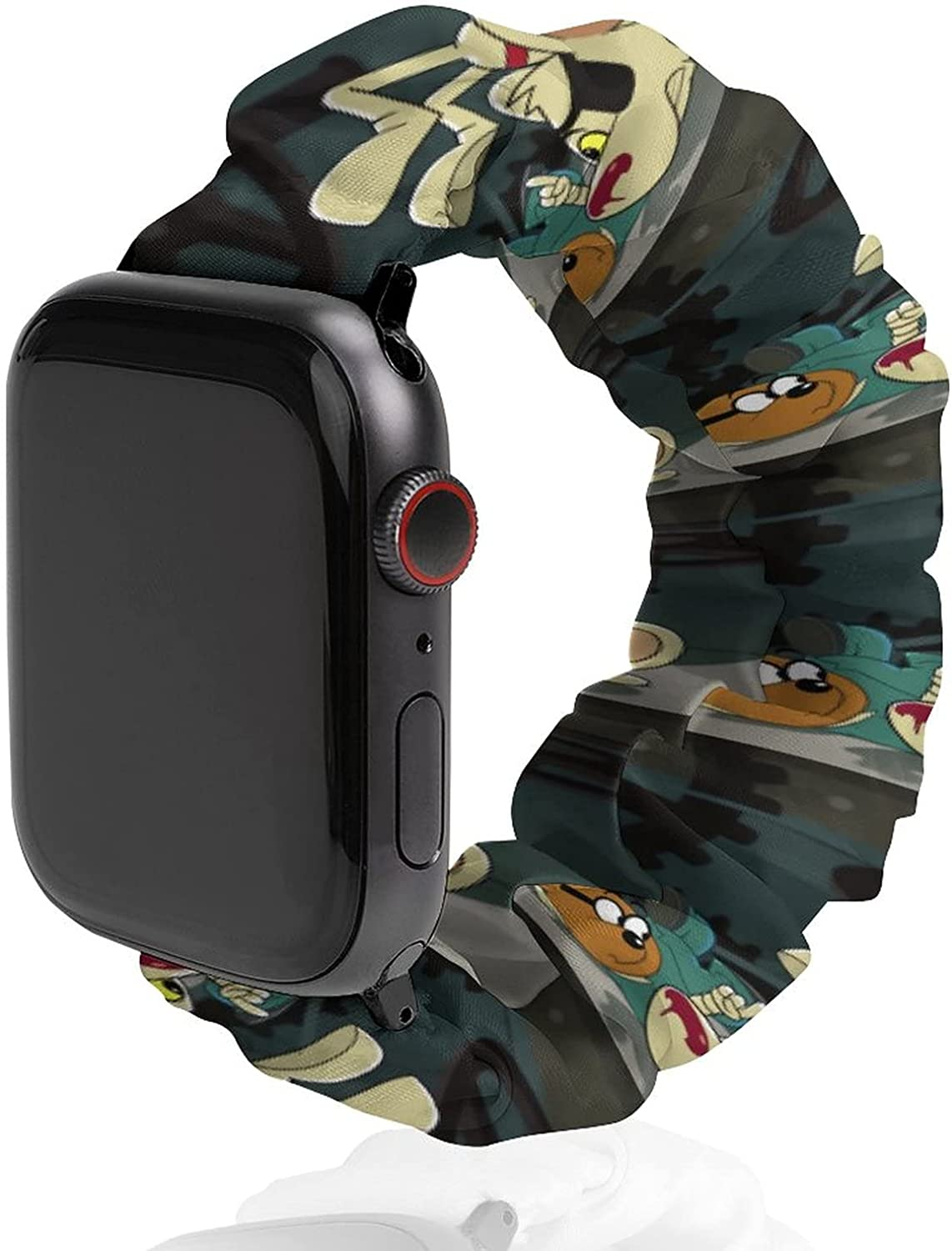Danger Limited price Mouse Watchband for Apple Watch Cloth Buckle Max 45% OFF Girls Wri No