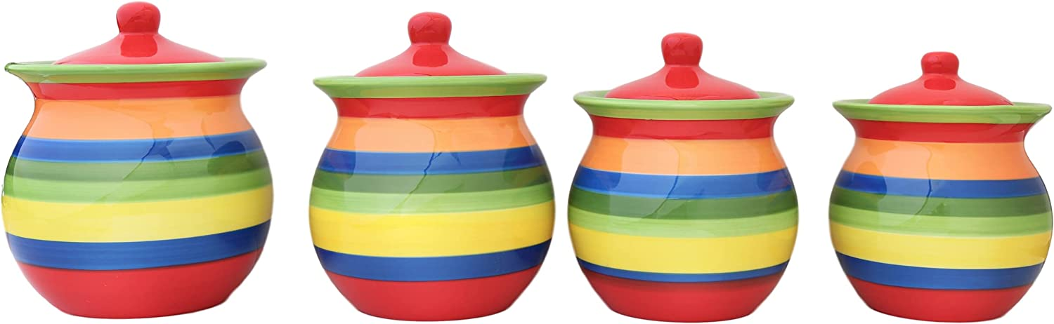 Tuscany Colorful Hand Painted Ranking TOP20 Ceramic Rare ACK Rainbow by Collection