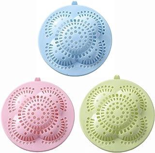 colador de fregadero de cocina filtro de pelo de alcantarillado antibloqueo verde Cubierta de drenaje para fregadero de ducha accesorios de cocina para colador