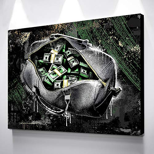 Frameloze olieverf Art Poster Foto Posters En Prints Portemonnee En Geld Canvas Prints Muur ng Tableau Peinture Sur50x70cm