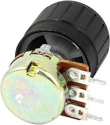 Potentiometer Pot B20k 20k 16mm Base Dia//20mm Shaft