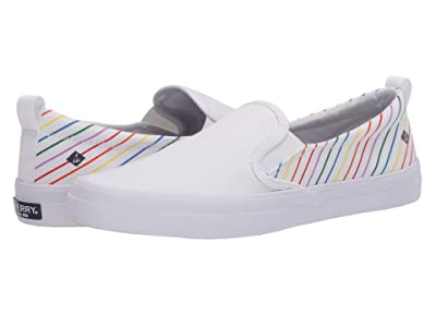 Sperry Crest Twin Gore Pride (White) Women