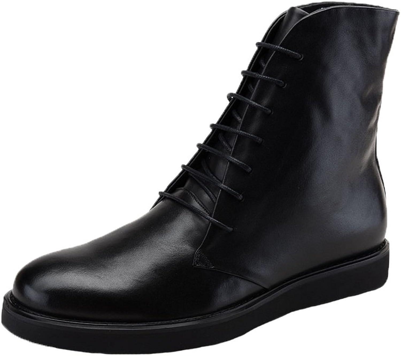 Santimon herr stövlar High Top läder läder läder Platform Lace upp Hiking skor  wholesape billig