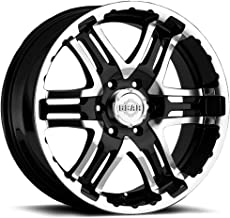 Gear Alloy Double Pump 16x8 Black Wheel / Rim 6x5.5 with a 0mm Offset and a 107.95 Hub Bore. Partnumber 713MB-6808400