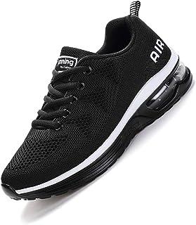 Sumateng Hommes Femmes Chaussures De Course Baskets Chaussures De Sport Chaussures De Course sur Route Baskets Respirant E...
