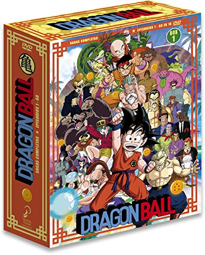 Dragon Ball Sagas Completas Box 1 Ep. 1 A 68 En 16...