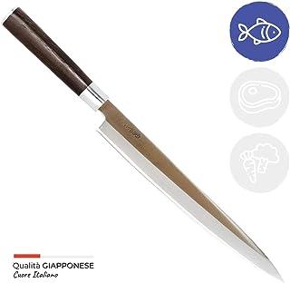 Totiko Japan Knives, Cuchillo de cocina japonés profesional, Sashimi Yanagiba Sakai 27 cm - 9 pulgadas